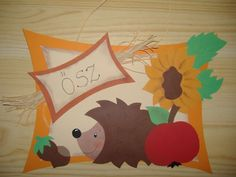 süni és az ősz Projects For Kids, Diy For Kids, Art Projects, Crafts For Kids, Diy And Crafts, Arts And Crafts, Paper Crafts, Squirrel Art, Scarecrow Crafts