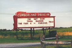 Cumberland Drive-In, Newville, PA - I was so excited to find a drive-in fairly close by!!  We're definitely planning some visits here.  Lots of other activities to do in the area to make a day of it and make it worth the drive!  I have so many memories of going to the drive-in (that sadly closed) I'm excited to be able to take my littles!!