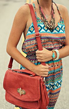 Boho Chic - PoP of Style!
