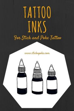 Stick and poke tattoo ink is one of the key ingredients that will improve your stick n poke tattoos quality, safety and longevity. Read more at : http://sticknpoke.com/tattoo-ink/
