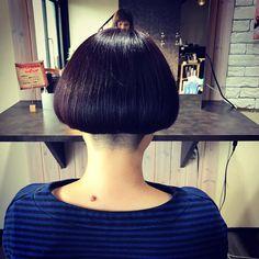 いいね!11件、コメント7件 ― FUKUさん(@fukufuku5821)のInstagramアカウント: 「わかめちゃんに、してきました。  #わかめ#カリアゲ女子 #ボブ」