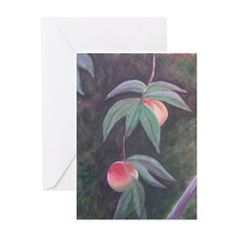 OF FLORIDA PEACHES Greeting Cards