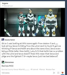 I think Keith just has a little more muscle weight to him because he seems to do extra training compared to Lance
