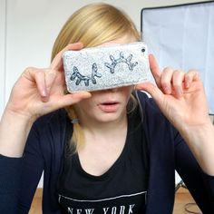 DIY Flirting / wink iPhone Case