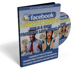 You also get this over-the-shoulder tutorial video and see exactly what you have to do to build a viral Facebook list, using Facebook Groups Free with facebook marketing extreme $19.99