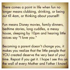 Being a parent ❤️ Disney movies ❤️ Family time ❤️ Messy house ❤️ The best
