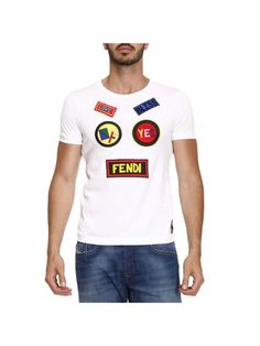 FENDI T-shirt T-shirt Men Fendi. #fendi #cloth #https: