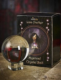 Gift Boxed Crystal Ball