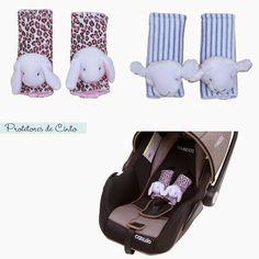 """Protetores de cinto fofos e """"gostosos"""" são difíceis de encontrar até mesmo nos EUA! Super recomendo este da Biramar Baby."""