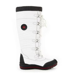 Women's Cougar 'Cannuck' Boot in White (WATERPROOF) Canada online at SHOP.CA - canuck-white. Trudge through heaps of snow and navigate icy sidewalks with ease, here's how to dress for the big freeze! Warm and waterproof!Pro Boots