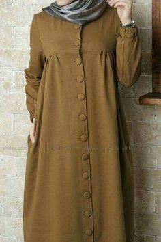 Hijab Style Dress, Casual Hijab Outfit, Hijab Chic, Abaya Fashion, Modest Fashion, Fashion Outfits, Muslim Women Fashion, Islamic Fashion, Modest Wear