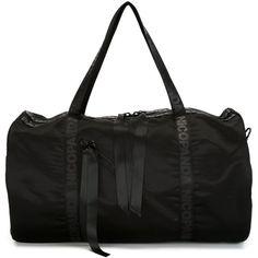 Nicopanda Gym Bag (€235) ❤ liked on Polyvore featuring bags, handbags, black and gym bag