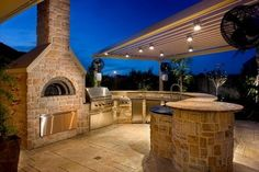 Pizza Oven_outdoor kitchen, by Renato - Traditional - Patio - houston - by Renato Ovens, Inc