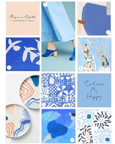 Soft candy pink with a shot of cobalt blue are cheering us up this morning in this pretty but cool colour palette. Cool Color Palette, Colour Pallete, Colour Schemes, Color Trends, Color Patterns, Color Palettes, Blue Palette, Textures Patterns, Tableaux D'inspiration