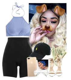 """✨💸"" by saucinonyou999 ❤ liked on Polyvore featuring SPANX, Polo Ralph Lauren, J.Crew and LULUS"