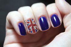 Olympic Nail Art | London Olympics Nail Art | Styleite