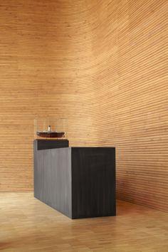 arctia headquarters - KC architects - lobby desk | photo: marko huttunen