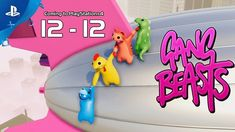 Gang Beasts Gameplay Trailer - Out December 12 New Games For Ps4, Xbox One Games, Ps4 Games, News Games, Video Games, Gamer News, Xbox News, Tech News, Beast Videos