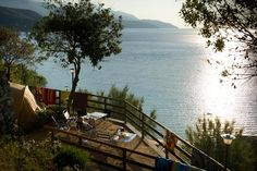 De standplaatsen   Camping Scaglieri   Eiland Elba