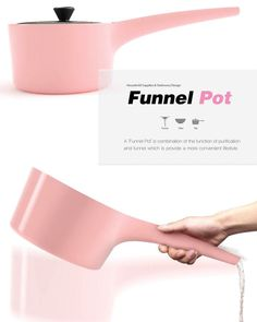 Funnel Pot – Kitchen Pot Design by Bosoon Kang