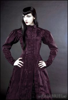Amethyst Isabella Coatdress by Kambriel