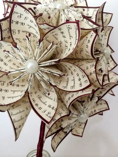 A Dozen I Love You's 12 paper flowers by DanasPaperFlowers