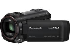 Panasonic HC-V750K - Panasonic V750: Enhanced Sound Full HD WiFi Enabled 20X Camcorder