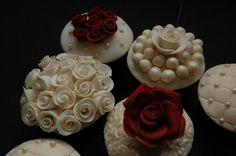 20th Anniversary Cupcakes - Cake by Annie