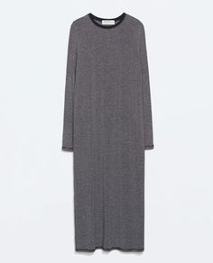 ZARA - TRF - LONG STRIPED DRESS
