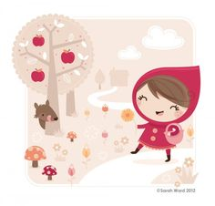 Little Red Riding Hood . Sarah Ward .