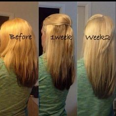 It Works Hair Skin and nails! This customers awesome results after 2 weeks. Get wholesale as a loyal customer for $33 http://bodycontouringwrapsonline.com/hair-skinnails