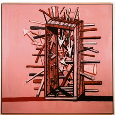 Martyr 1978 | Philip Guston: Mind and Matter | McKee Gallery