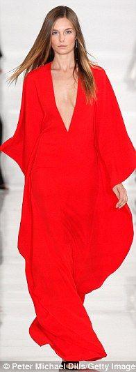Red Kaftan|Ralph Lauren