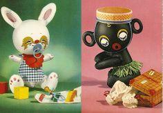 Vintage Takara Postcards