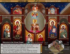 INTERACTIVE VIRTUAL TOUR OF AN ORTHODOX CHURCH www.acrod.org/prayercorner/church-tour