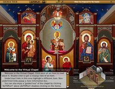 INTERACTIVE VIRTUAL TOUR OF AN ORTHODOX CHURCH www.acrod.org/prayercorner/church-tour