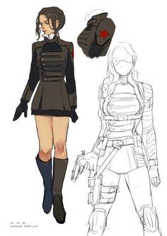 Genderbend winter soldier