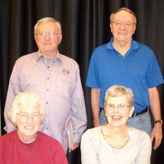 Congrats to the Fri Eve Swiss A Winners ~ Tied 1st ~ Jerry Derby & Billy Leeper Mary Orock & Pat Cassidy