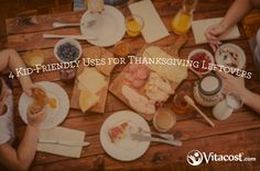 This one is for the kids: 4 exciting uses for Thanksgiving leftovers. Did someone say: stuffing boats?