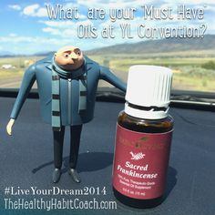 "What are your ""Must Have"" oils for Convention? - http://instagram.com/healthyhabits"