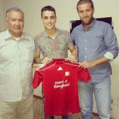 رسميًا محمد القابسي ينضم لصفوف فريق الأهلي بنغازي