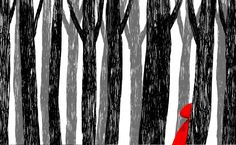 Andre Letria | Little Red Riding Hood | http://andreletria.pt/portfolio/little-red-riding-hood/