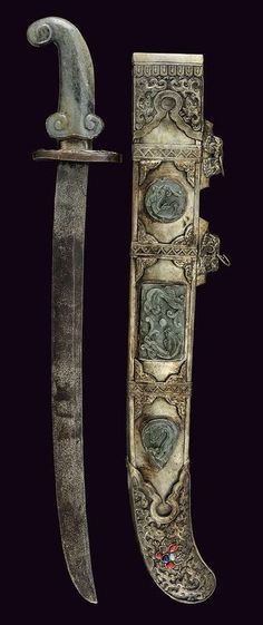 Ceremonial Sword.      Dated: 19th century.     Culture: Chinese.  Copyright © 2013 Czerny's International Auction House S.R.L.