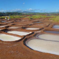 #Hanapepe Salt Ponds, #Kauai, #Hawaii