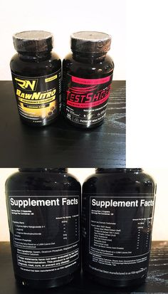 Sports Vitamins and Minerals: Pure Raw Nitro No Pro Mass Muscle Pre Workout Test Shred T Boosting Testosterone BUY IT NOW ONLY: $89.99