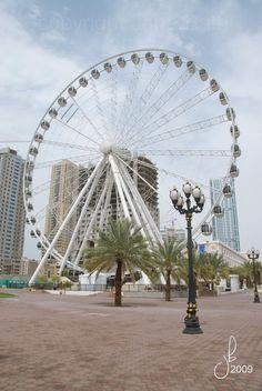 The Eye of the Emirates - Al Quasba SHARJAH - UNITED ARAB EMIRATES        (by Jana Bath 2009)