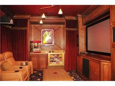 Popcorn machine, candy drawer, home theater… what more could one want?  Boca Raton, FL $3,250,000