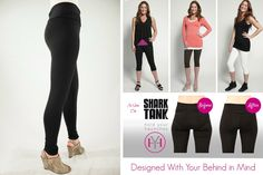 Because moms need new school clothes too! Hold Your Haunches™ Shapewear revolutionizes the quest to keep our bodies looking their best by streamlining shapewear and fashion in a comfy, modern, sleek silhouette. With a layer of body-shaping compression sewn into a fashionable pant, you can say adios to rolling, binding, and sagging and say hello to an improved rear view - the great looking bottom for a great looking bottom.