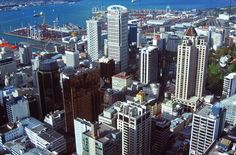 This photo from Auckland, North Island is titled 'Auckland buildings'. South Pacific, Auckland, New Zealand, New York Skyline, Sailing, Buildings, Scenery, Faces, The Incredibles