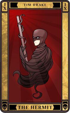 Tim Drake Tarot Card